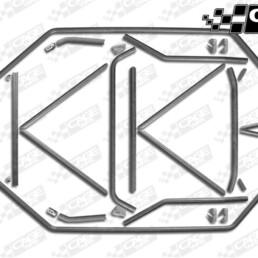 Polaris RZR XP4 1000 Turbo Baja Cage