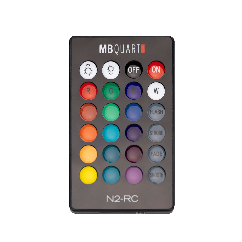 MB Quart LED Remote Control